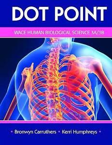 Dot Point WA Human Biological Science 3A And 3B by Kerri Humphrey (Paperback, 20