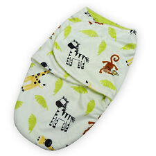 Brand New Baby/Infant Summer Swaddle Me Blanket Wraps/Sleeping Bag  Lime