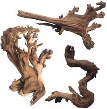 New listing Natural Aquarium Driftwood Assorted Branches Reptile Ornament For Fish Tank Deco