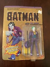 New Sealed Unpunched 1989 Toy Biz Batman The Joker Figure Squirting Orchid