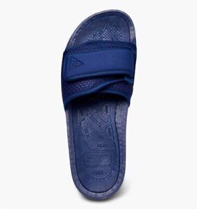adidas Chancletas x Pharrell Williams Boost Slide UK 10 HU Night Sky Blue FY6142