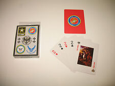 Marines Army Navy Air Force Military Playing Cards (54 Cards)
