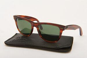 Genuine Vintage 1980's B&L Ray Ban Wayfarer II, L1725, 54mm Lens, Sunglasses