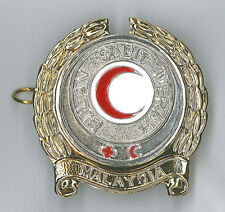 MALAYSIA / MALAYSIAN RED CRESCENT (CROSS) - Official Collar Metal Pin Patch