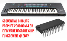 Sequential Circuits Prophet 2000 ROM 4.3B Firmware Upgrade Chip / New EPROM