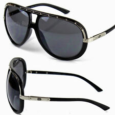 97a5471c240 New DG Mens Oversized Retro Vintage Aviator Fashion Designer Sunglasses  Pilot 80