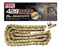 RK 428 Premium Off-Road Non O-Ring Chain 134-Link Gold Motocross ATV Racing