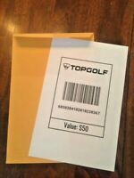 $50 Topgolf Gift Card