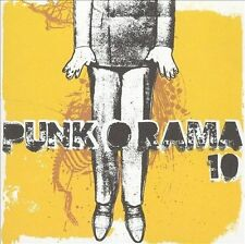 Punk-O-Rama, Vol 10 2 CD SET converge FROM FIRST TO LAST millencolin NOFX PULLEY