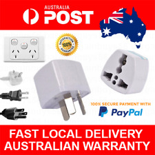 Power Adaptor Convertor US/UK/EU to AU Australia NZ Plug