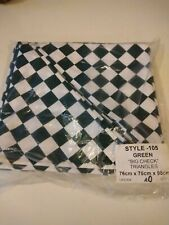 More details for chefs green and white neckerchief