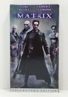 The Matrix (VHS, 1999, Collectors Edition) Tape Movie Keanu Reeves Warner Bros