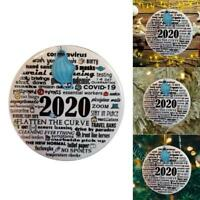 2020 Annual Events Christmas Ornaments Remembering Silver Lining New Xmas Decor