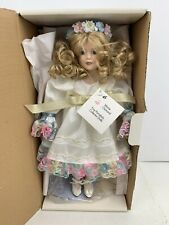 Marie Osmond Vintage Doll Girl On A Swing Limited Edition Collectors Alyssa New!