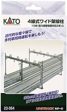 Kato 23-064 4-Track Wide Catenary Set N scale New Japan