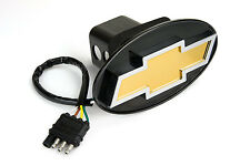 Reese Towpower 86062 Licensed LED Hitch Light Cover with Chevy Bow Tie Logo