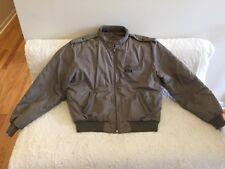 Members Only Mens Vintage Iconic Cafe Racer Jacket Khaki Steve Stranger Things