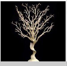 10 x Inverno Bianco Artificiale Mane 'Anita Matrimonio Albero desideri caratteristica principale 75 cm
