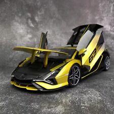 Bburago 1/18 Lamborghini Sian FKP37 2019 Ad Personam 63 Open Close Car Model