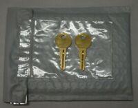 Free Shipping!!! Master Lock Padlock Replacement Keys Key By Code Set of 2