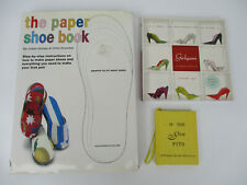 Paper Shoe Fashion Origami Accessories Crafts Home Projects Book Lot