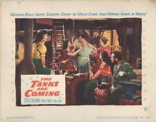 The Tanks are Coming 1951 11x14 Lobby Card #7