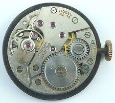 Vintage Benrus Model AR15 Mechanical Wristwatch Movement -  Parts / Repair