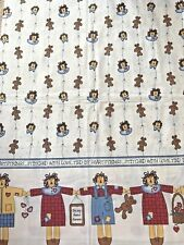 """Cotton Quilt Fabric """"Mine and Yours"""" Stitched With Love 1997 by Spectrix Bthy"""