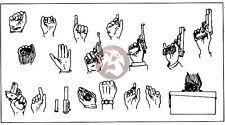 Verlinden 120mm 1/16 Assorted Human / Soldier Hands [Resin Figure Accessory] 549