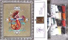 Mirabilia Cross Stitch Chart with Embellishment Pack ~ GYPSY MERMAID #126 Sale