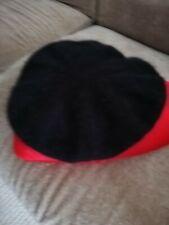 Vivienne Westwood Gold Label wool beret black new