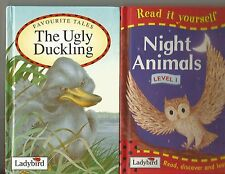 Ladybird Books....The Ugly Duckling & Night Animals.. small hardcovers