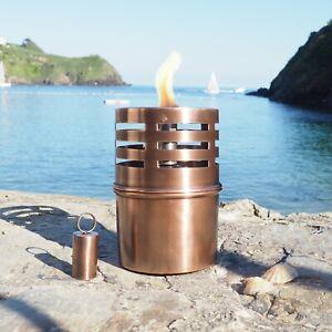 Copper Table Oil Lamp