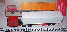 TATRA Budamobil Containerauflieger TT 1/120   #  å