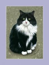 Tuxedo Cat Print The Perfect Model by I Garmashova