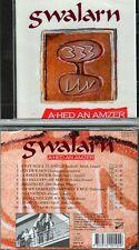 "GWALARN ""A-Hed An Amzer"" (CD) 1998 NEUF"