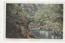 Pont Aberglaslyn Vintage Postcard  218a