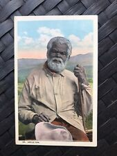 Antique Black Americana Uncle Tom Postcard Posted
