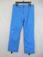 Womens 8 Spyder Blue Ski Snowboard Winner Tailored Pants Spylon 10k