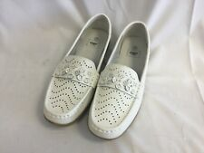 Cotton Traders Ladies White Loafer Shoes Size UK7 - C5