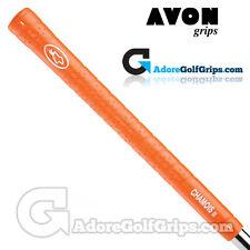 Avon Chamois II Golf Grips - Orange x 9