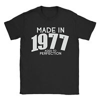 Made In 1977 Mens T-Shirt - 40th Birthday Present Gift Vintage