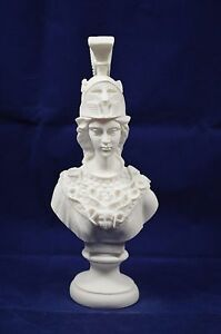 Athena Pallas sculpture bust Minerva ancient Greek Goddess alabaster  artifact