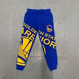 Boys Golden State Warriors Sweat Pants NBA Basketball Curry Hoops Ball Court