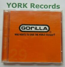 GORILLA  - Who Wants To Save The World Anyway - Ex Con CD Single Viper VIP 001CD