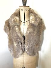 Ladies Per Una Faux Fur Bolero Jacket Evening Jacket UK M