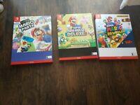 Super Mario Promo Cardboard Walmart Signs 20×15   Set Of 3