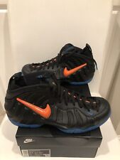Nike Air Foamposite Pro Black/Blue/Orange Sz10 New