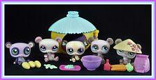 Littlest Pet Shop PANDA BEAR #645 #904 #1305 #1328 #1495 HOUSE Food ~ GIFT BAG!