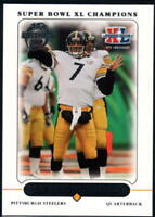 2006 Topps Super Bowl XL Champions Pittsburgh Steelers - Pick A Player
